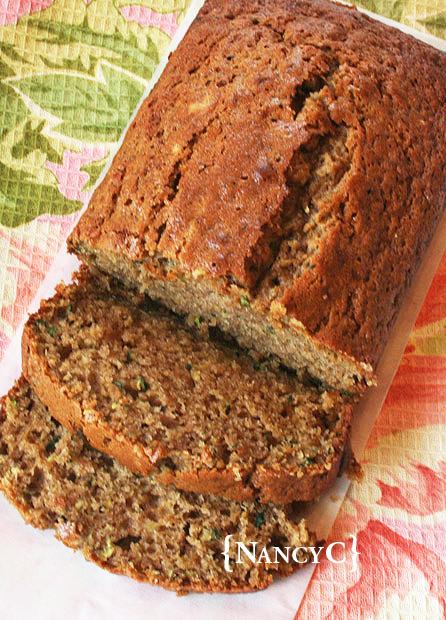 Zucchini Spice Bread @ NancyC
