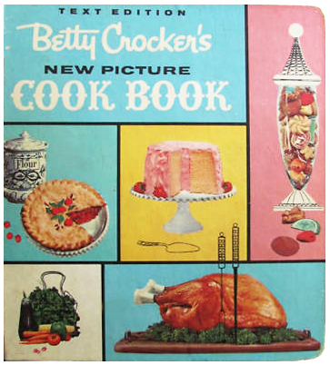 Vintage Betty Crocker Christmas Holiday Baking Cookie Cooky Book 1st Ed. 1963