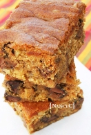 Chocolate Chip Pumpkin Bars @ NancyC