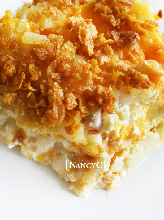 Cheesy Hash Brown Potatoes @ NancyC