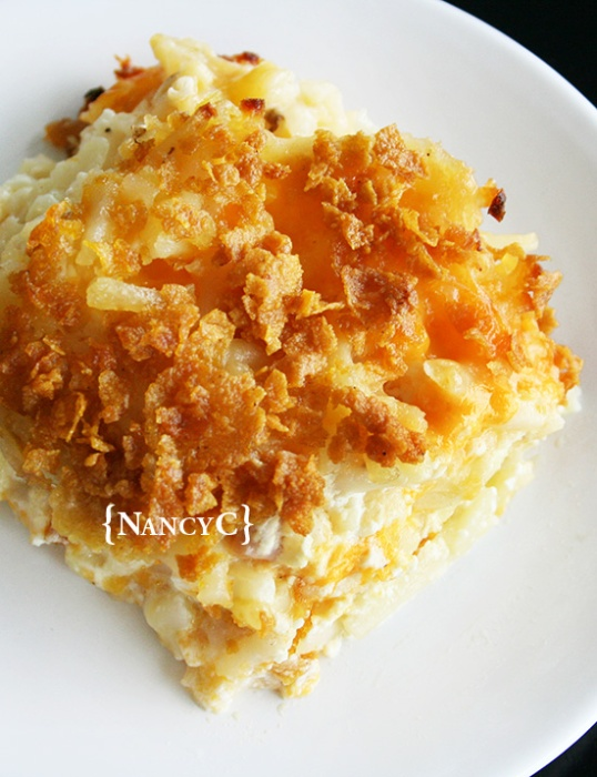 Cheesy Hash Brown Potatoes2 @ NancyC
