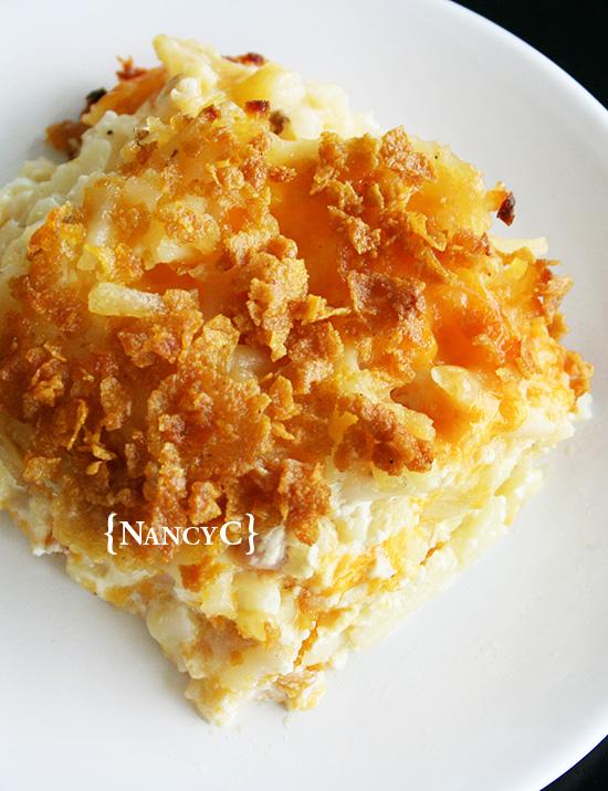 Cheesy Hash Brown Potatoes2 @ NancyC