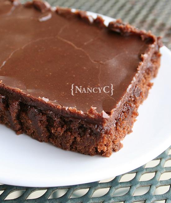 Texas Sheet Cake2 @ NancyC