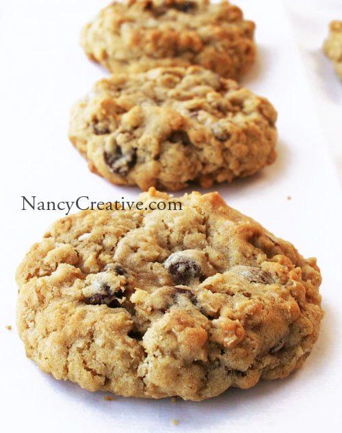 are my new favorite oatmeal cookies they have lots of healthy oats ...