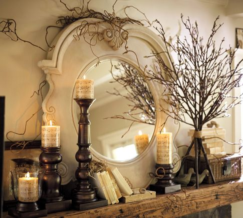 Autumn decorating inspiration from pottery barn for Pottery barn design ideas
