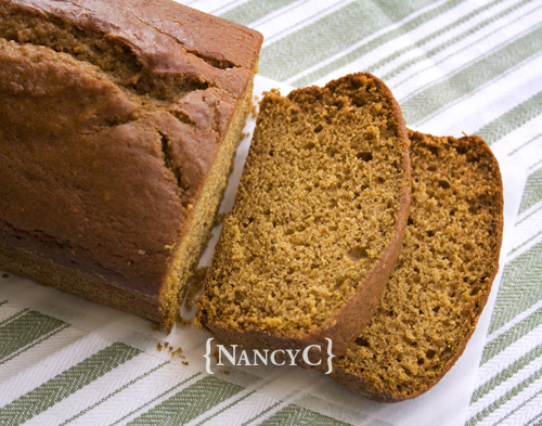 Pumpkin Bread with Pumpkin Buttercream2 @ NancyC