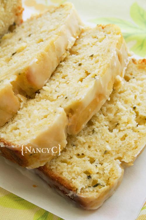 Lemon Zucchini Loaf @ NancyC
