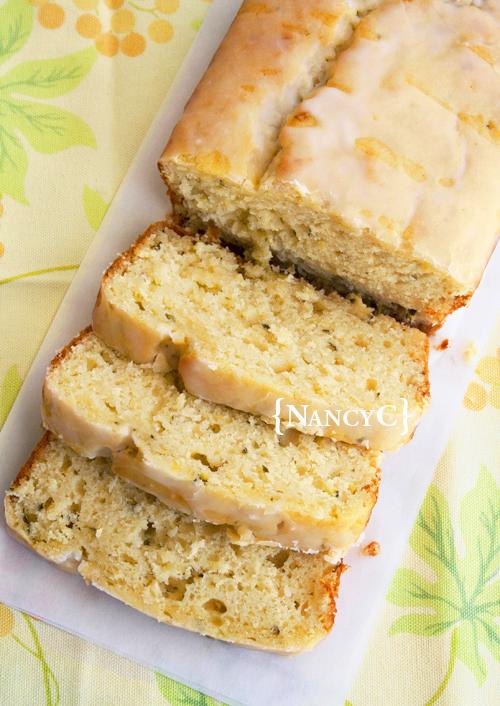 Lemon Zucchini Loaf2 @ NancyC