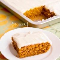 Pam's Pumpkin Sheet Cake