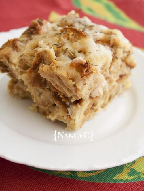 French Onion Turkey Casserole1 @ NancyC