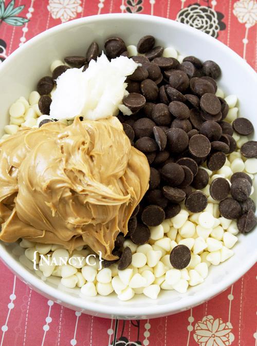 Peanut Butter Chocolate Meltaways4 @ NancyC