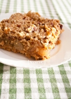 Caramel Apple Oat Squares @ NancyC