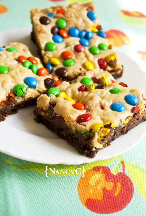 Chocolate Chip Confetti Brownies @ NancyC