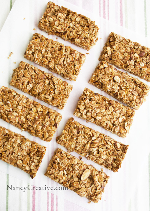 ... crunchy or chewy granola bars–and do you have a favorite granola bar