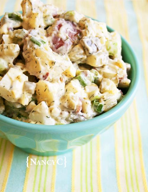 Creamy Potato Salad Recipe With Dill