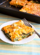 Cheesy Spinach Bake @ NancyC