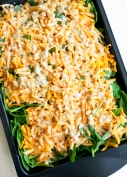 Cheesy Spinach Bake2 @ NancyC