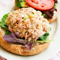 Dill Pickle Tuna Salad