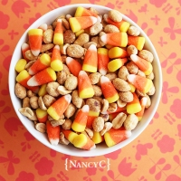 "Candy Corn ""PayDay"" Mix"