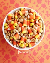 Candy Corn Pay Day Mix1 @ NancyC