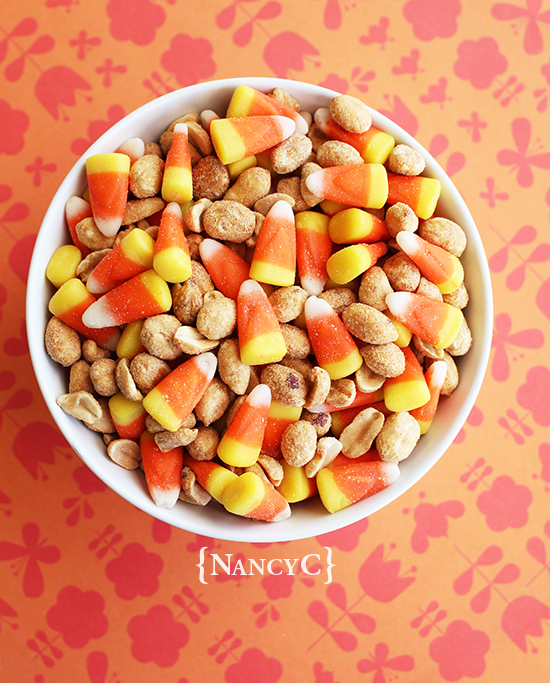 Candy Corn Pay Day Mix1 @ NancyC