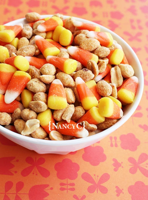 Candy Corn Pay Day Mix2 @ NancyC