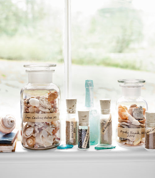 Shell decor ideas nancyc for Shells decorations home