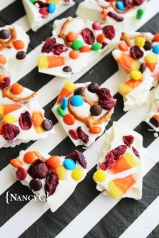 Candy Corn Bark @ NancyC