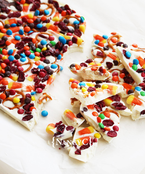 Candy Corn Bark2 @ NancyC