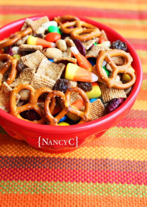 Candy Corn Trail Mix @ NancyC
