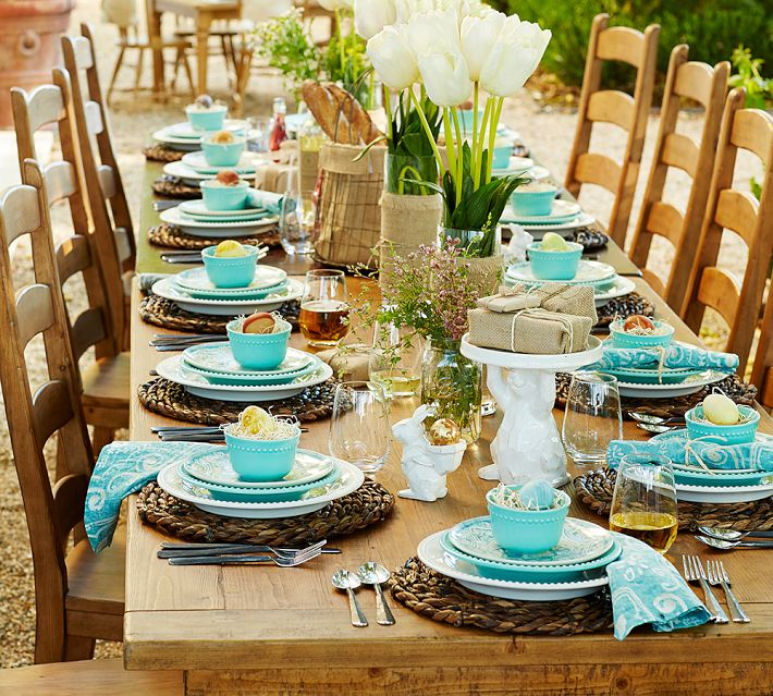 Spring fever nancyc for Everyday kitchen table setting ideas