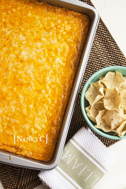 Texas Trash Warm Bean Dip @ NancyC
