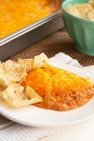 Texas Trash Warm Bean Dip2 @ NancyC