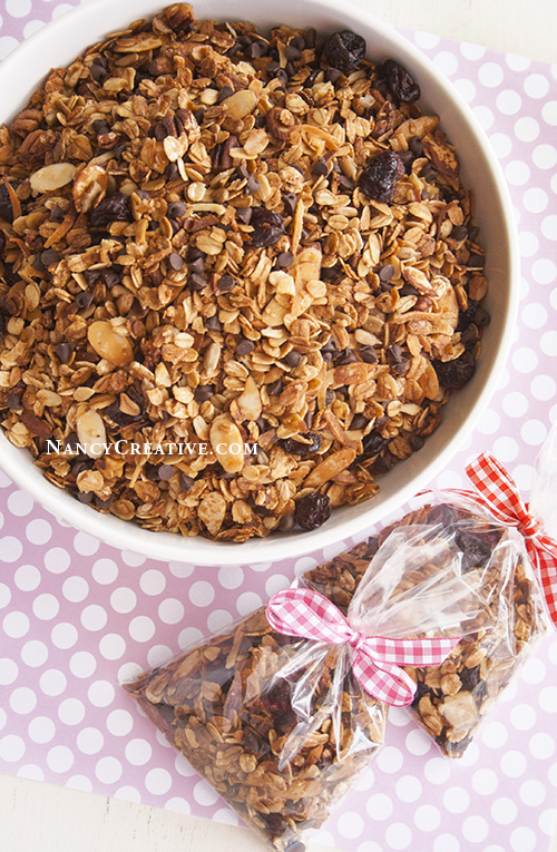 Not only is this granola a great healthy sweet snack, you can have it ...
