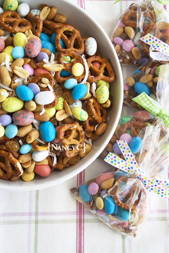 Easter Trail Mix @ NancyC