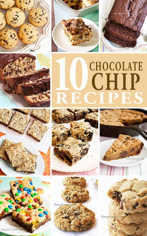 10ChocolateChipRecipes@NancyCreative.com