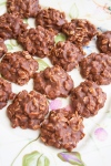 Chocolate No-Bake Cookies@NancyCreative.com