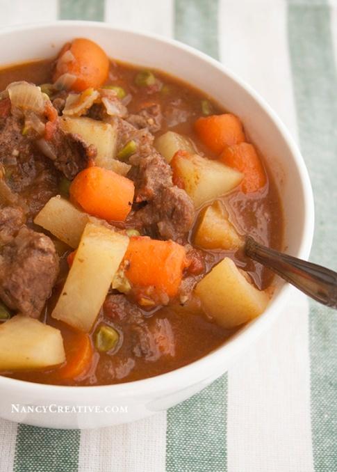 Retro Beef Stew @ NancyC