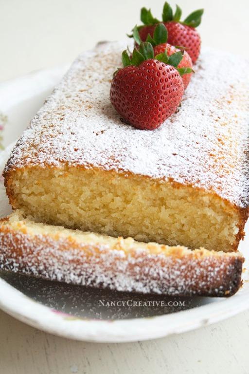 Ricotta Pound Cake II @ NancyC