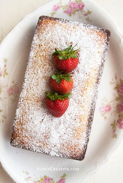 Ricotta Pound Cake @ NancyC