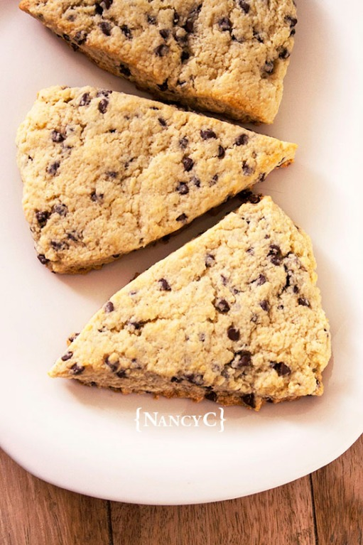 Chocolate Chip Scones @ NancyC