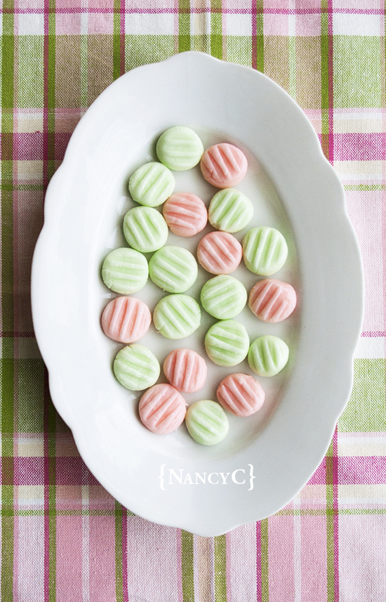 Cream Cheese Mints @ NancyC