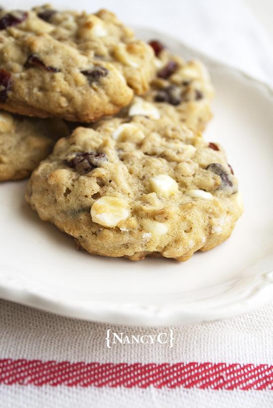 Jumbo Oatmeal Cranberry Chocolate Chip Cookies @ NancyC