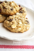 Jumbo Oatmeal Cranberry Chocolate Chip Cookies @ NancyC
