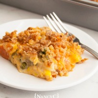 Cheesy Mixed Vegetable Casserole