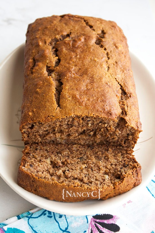 Whole Wheat Banana Bread @NancyC