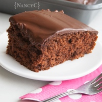 Chocolate Sour Milk Cake