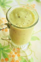 Shamrock Smoothie @ NancyC