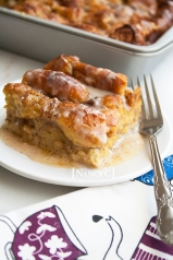 Donut Bread Pudding @ NancyC