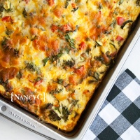 Egg and Veggie Breakfast Bake